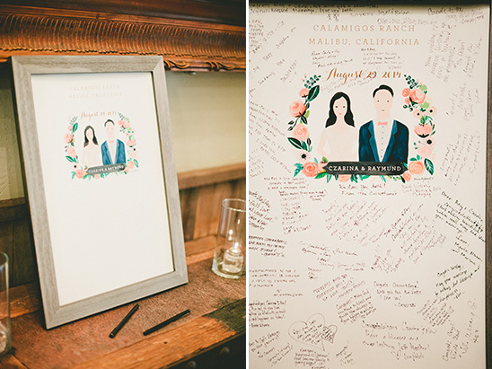 alternative wedding guest book @weddingchicks