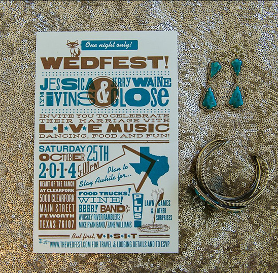 fun wedding stationery @weddingchicks