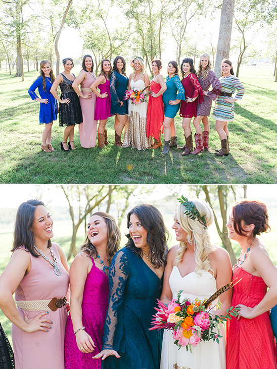 the bride and her gals @weddingchicks