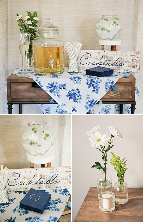 light and fun cocktail table @weddingchicks