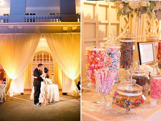 wedding candy bar @weddingchicks