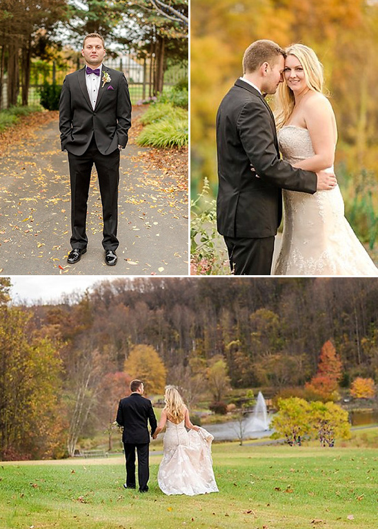 fall wedding couple @weddingchicks