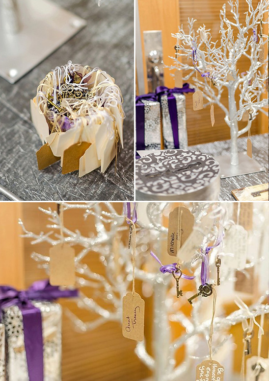 vintage key wishing tree @weddingchicks