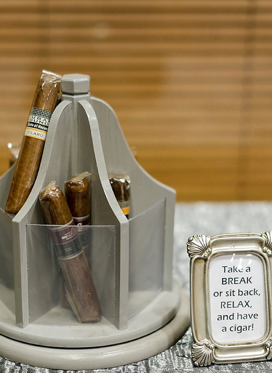 take a break cigar bar @weddingchicks