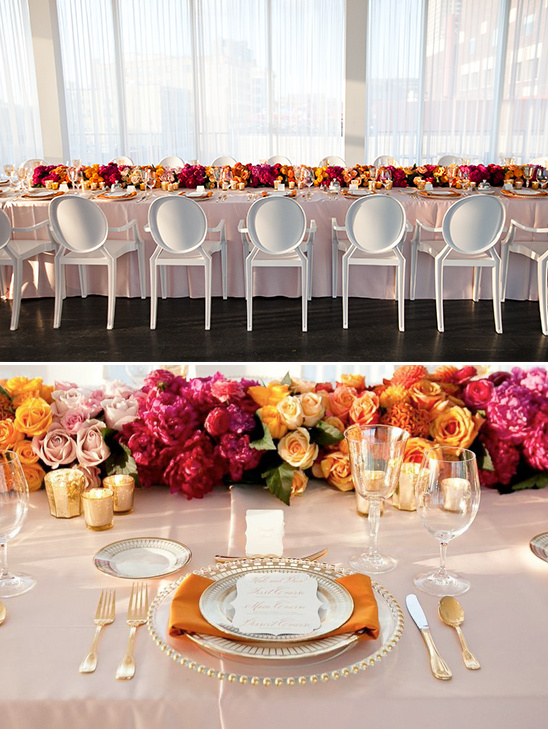 modern wedding reception ideas @weddingchicks