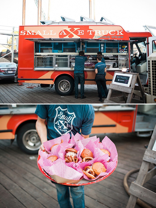 food truck wedding food @weddingchicks