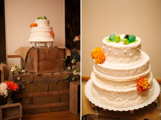 rustic wedding cake table ideas