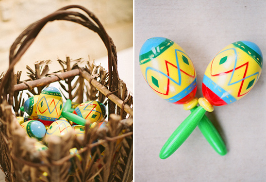 maraca wedding favors @weddingchicks