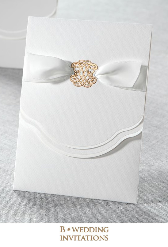 Glamorous wedding invitations from B wedding invitations @weddingchicks