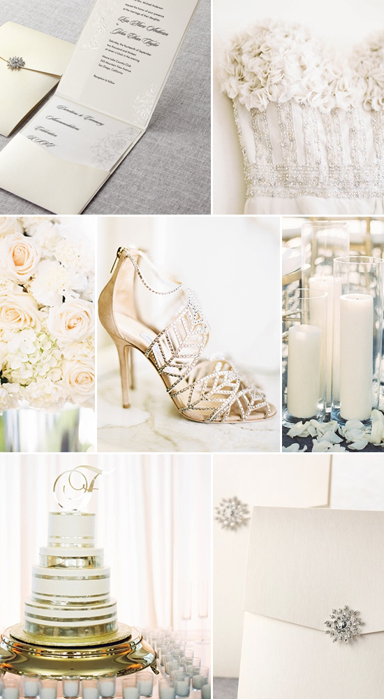 Glamorous wedding inspiration @weddingchicks