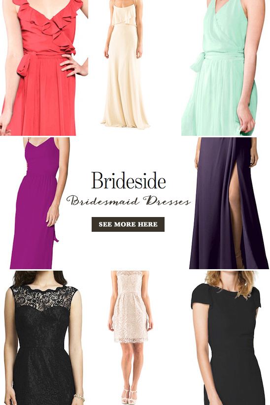Stunning bridesmaid dresses from @brideside