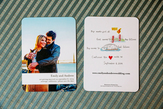 personalized wedding invitations @weddingchicks