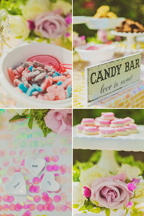 candy bar @weddingchicks