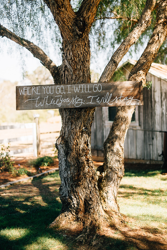 Where you go wood sign detail @weddingchicks