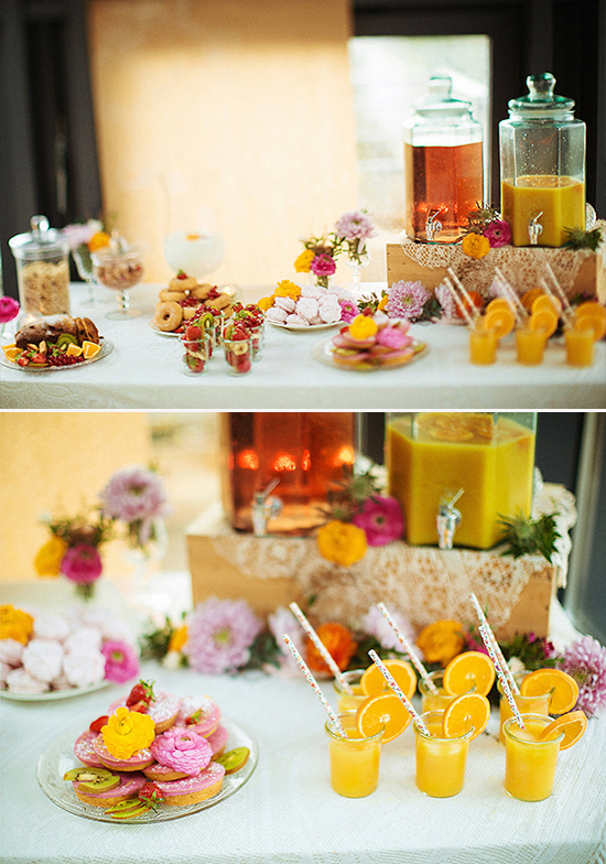 bridal brunch bar