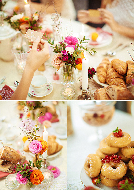bridal party brunch @weddingchicks