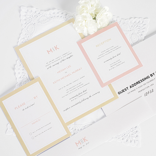 Shine Wedding Invites @weddingchicks