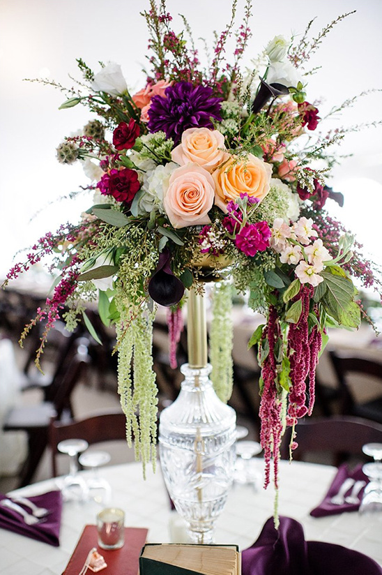 Wedding Overflowing With Florals
