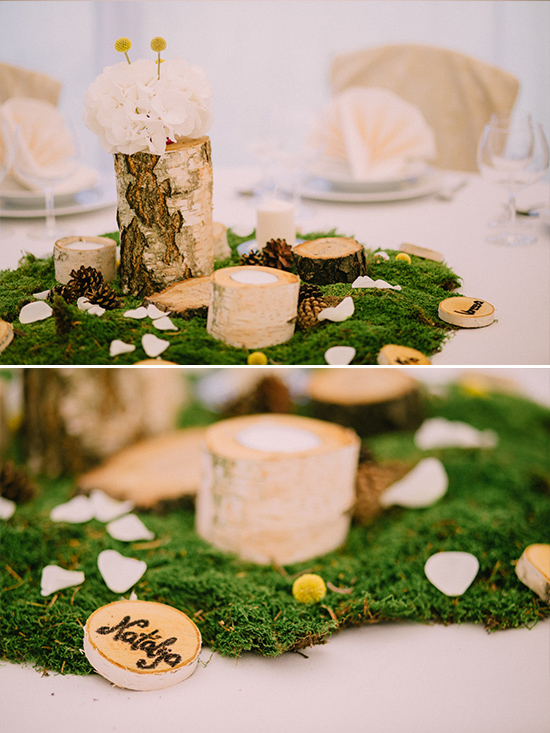 Woodsy wedding ideas @weddingchicks