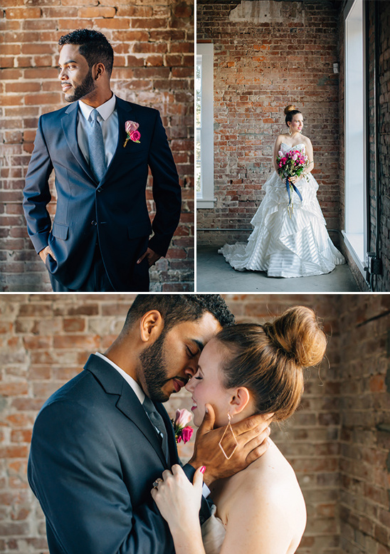 modern and timeless wedding couple @weddingchicks