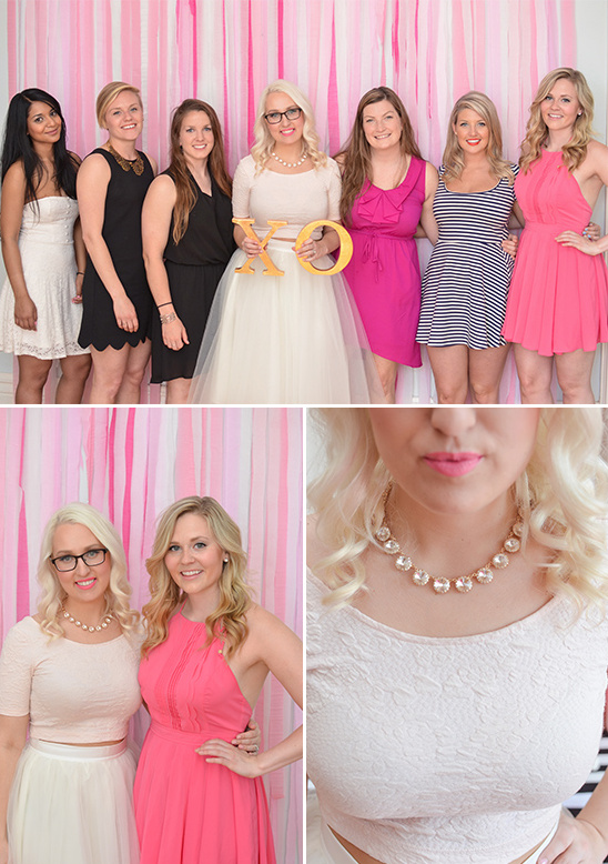 bridal shower party attire @weddingchicks
