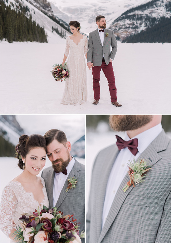 winter wedding style @weddingchicks