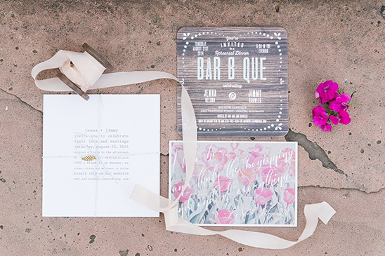 beautifully themed wedding stationery @weddingchicks