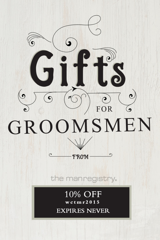 Groomsman gift ideas @weddingchicks