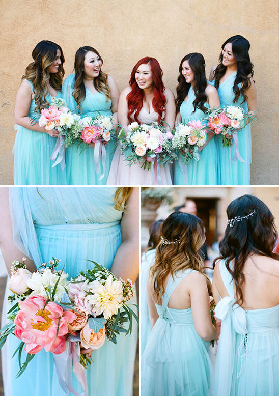 bridesmaid dresses by Jenny Yoo @weddingchicks