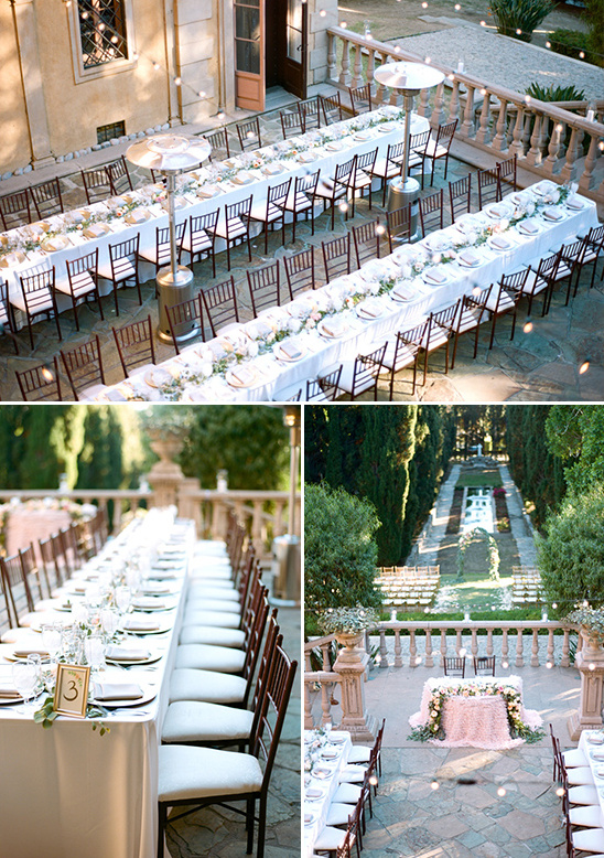 long tables @weddingchicks