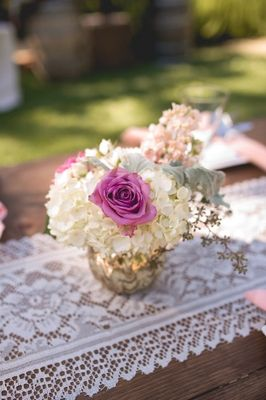 Ruffles and Roses Wedding