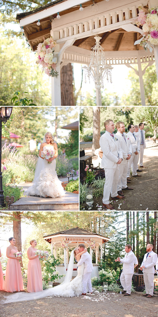 gazebo wedding ceremony @weddingchicks