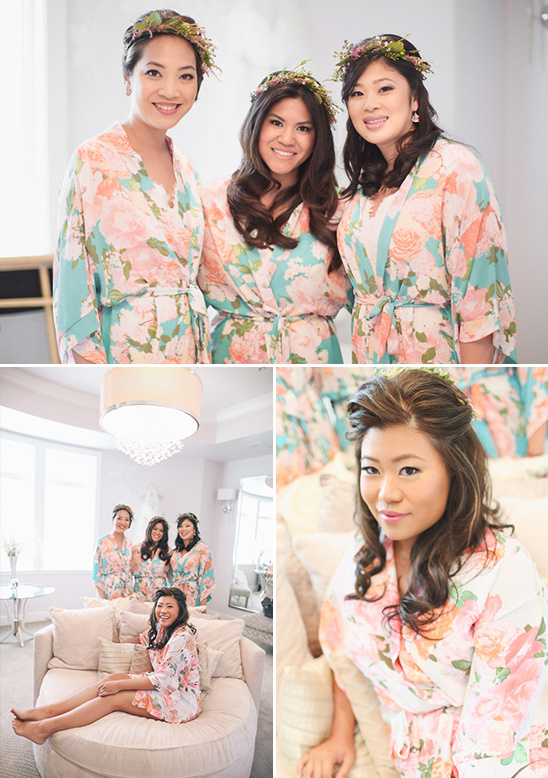getting ready robes by PopConfetti @weddingchicks