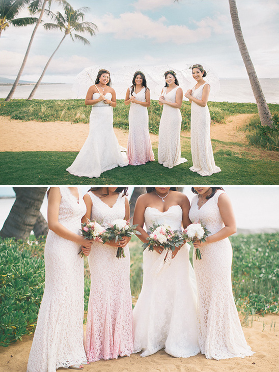 ombre bridesmaid dresses @weddingchicks