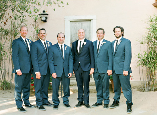charcoal grey groomsmen @weddingchicks