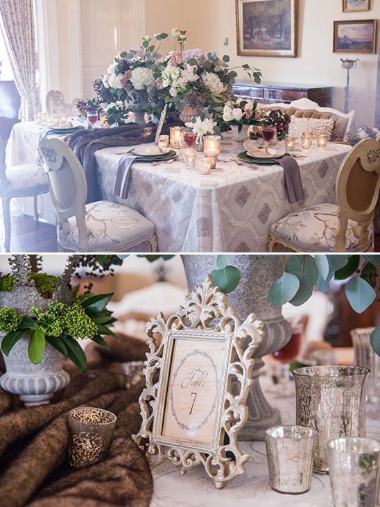 old elegance reception table ideas @weddingchicks