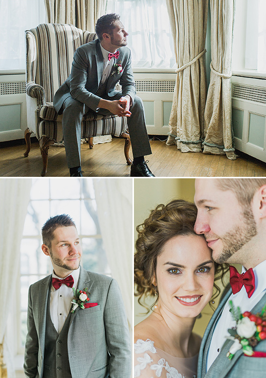 red white and grey groom look @weddingchicks