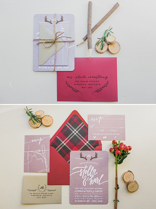 rustic themed wedding stationery @weddingchicks