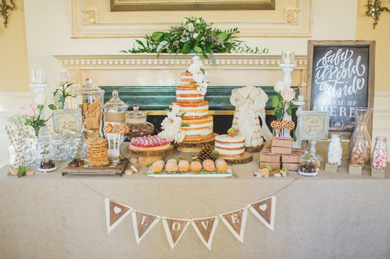 wedding dessert table ideas @weddingchicks
