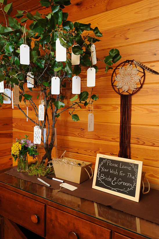 wishing tree @weddingchicks
