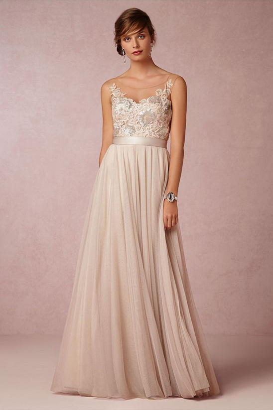 BHLDN lucca maxi dress @weddingchicks