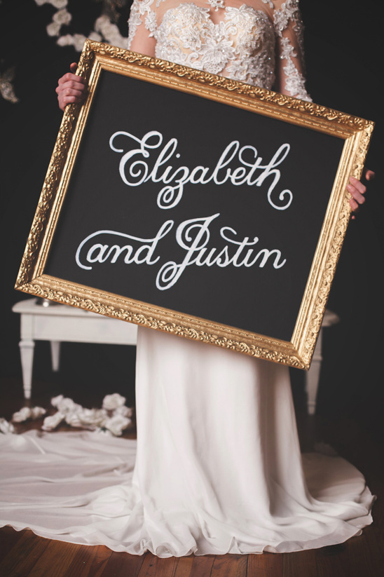 goldframedchalkboardsign@weddingchicks