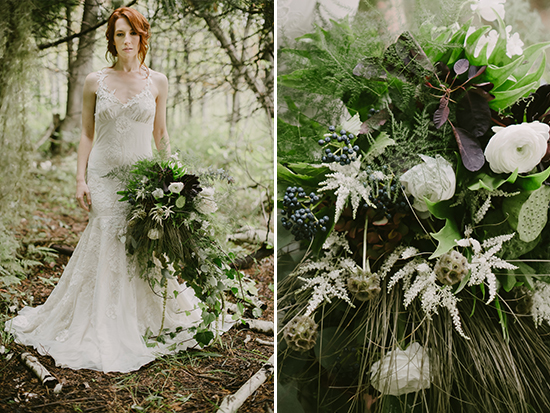 earthy bridal shoot wedding ideas @weddingchicks