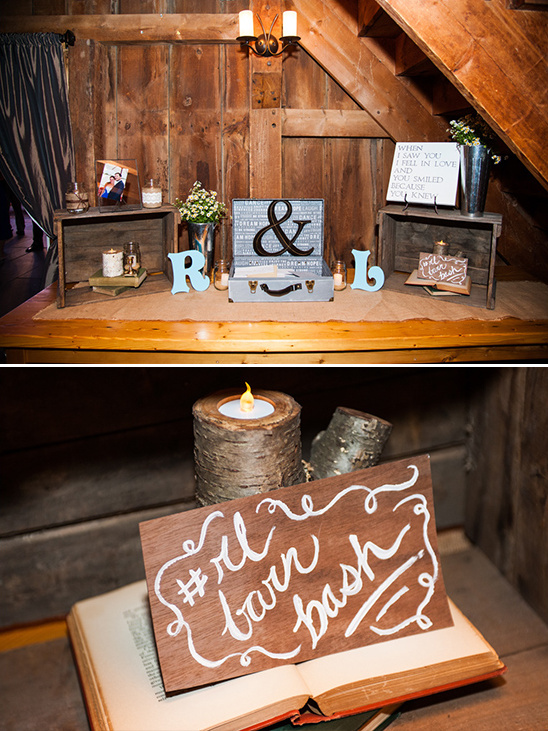 welcome table and instagram sign @weddingchicks