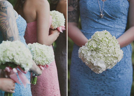 hydrangea bouquet @weddingchicks