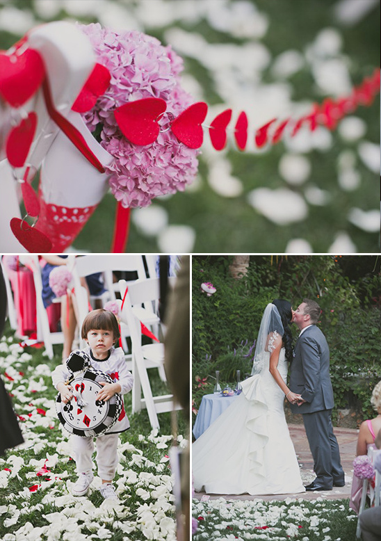 wonderland themed wedding @weddingchicks