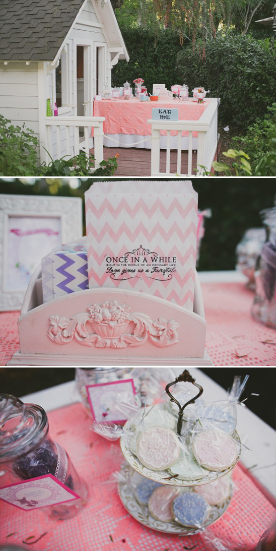 Alice in wonderland sweets table @weddingchicks