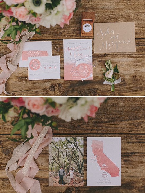 invitation and save the date suite @weddingchicks