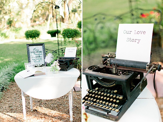 our love story sign @weddingchicks