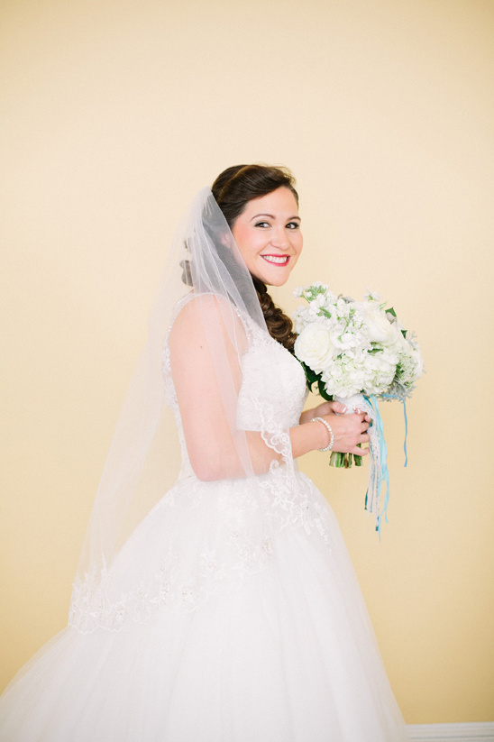 blushing bride @weddingchicks